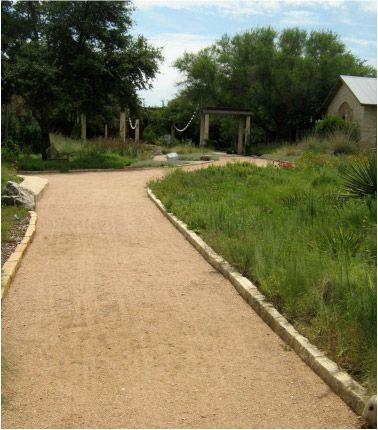 Decomposed granite driveway. Affordable.