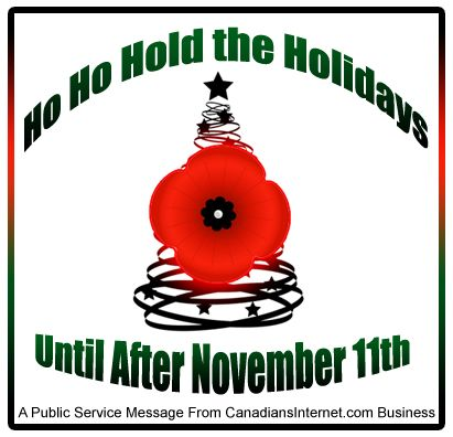 Respect Remembrance Day and Still Beat Online Holiday Deadlines