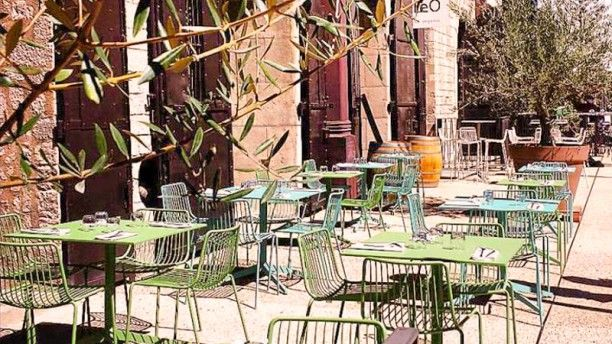 Be O - La Table Terrasse et jardin