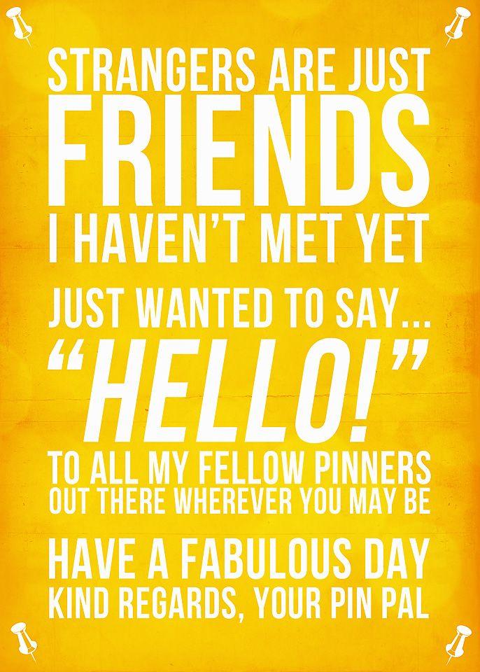 Hello, fellow pinners!