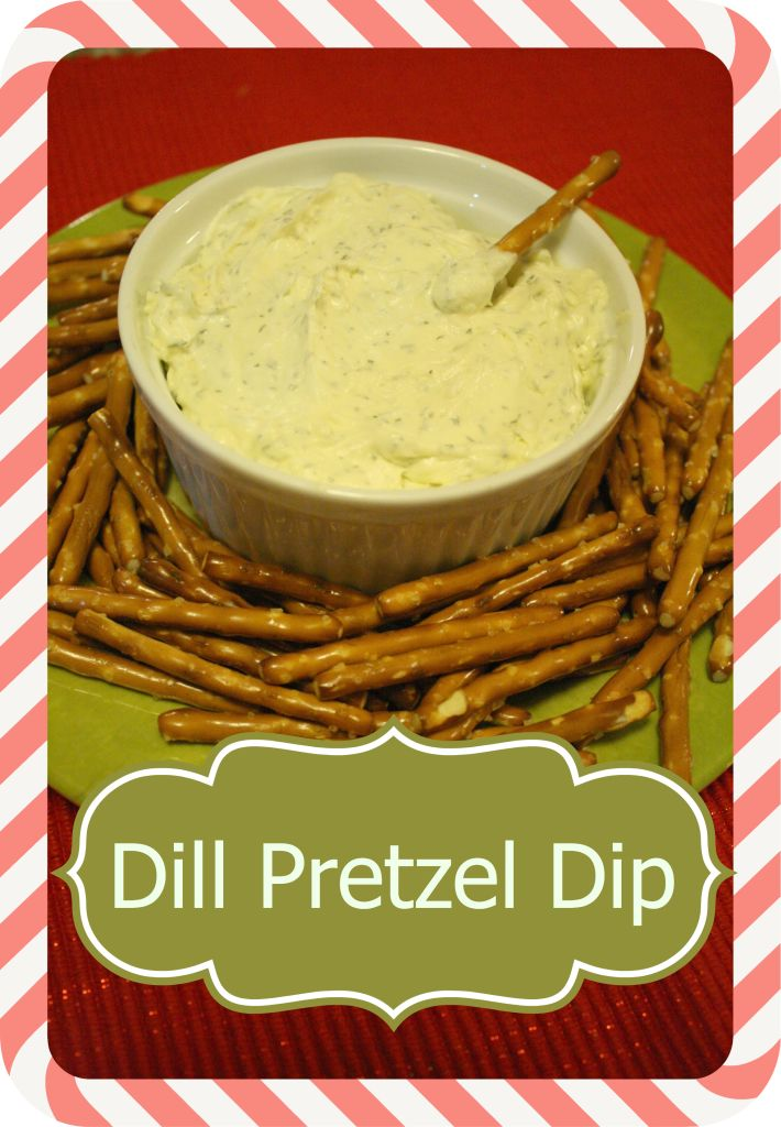 This is one of those recipes that I love to fix to go with just regular 'ole pretzels. It is an easy dill pretzel dip made with butter, cream cheese, and dill. It is almost addicting when you…