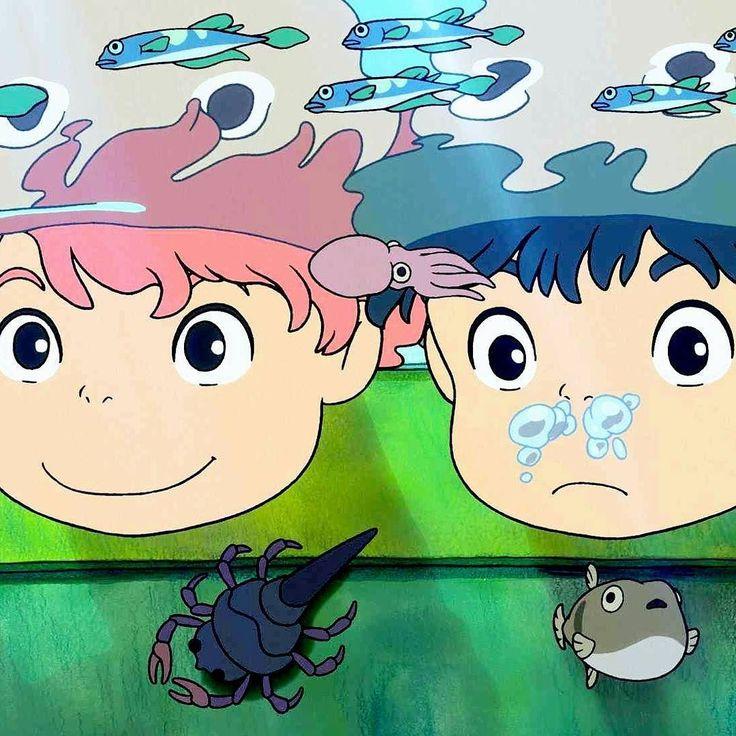 Who loves #Ponyo?  #ghibli #ghiblilove #studioghibli #hayaomiyazaki
