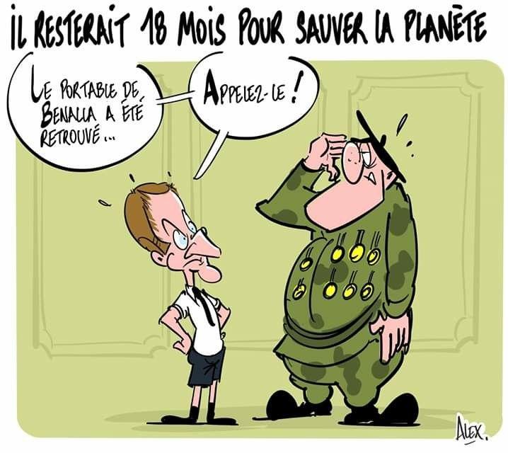 Alex (2019-07-30) France : Emmanuel Macron, changement climatique ...