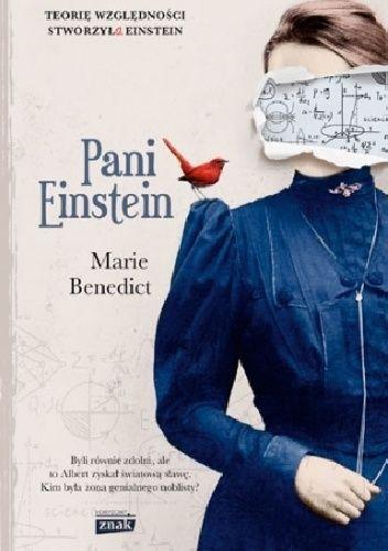 Okładka książki Pani Einstein