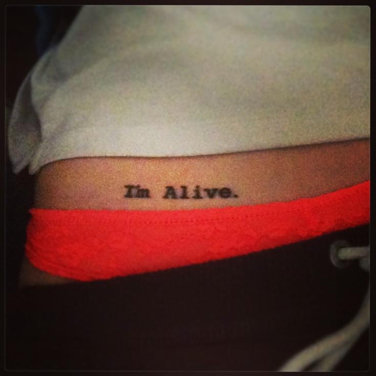 Small Tattoo On Hip