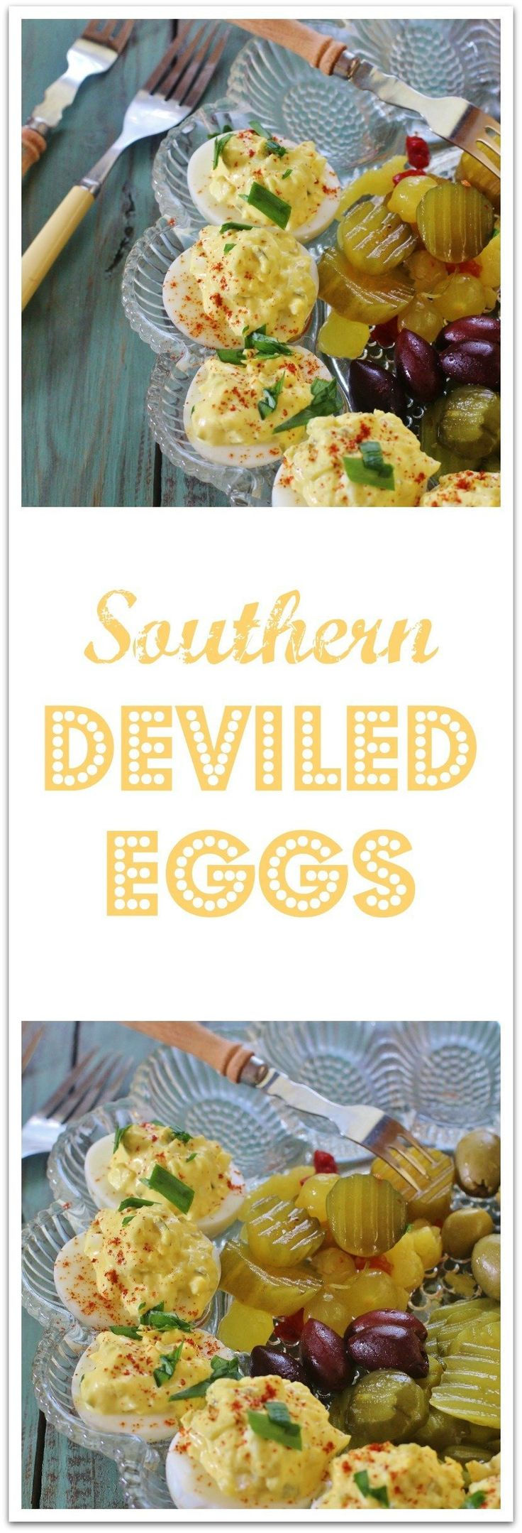 how to make southern deviled eggs