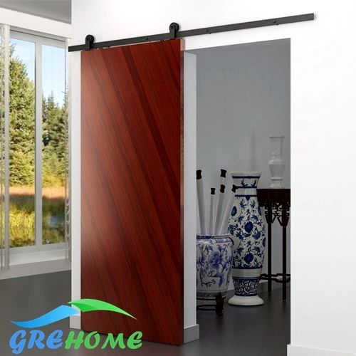 (50.00$)  Know more - http://aibz8.worlditems.win/all/product.php?id=32230850343 - 4.9FT/6FT/6.6FT Carbon steel barn sliding door track system