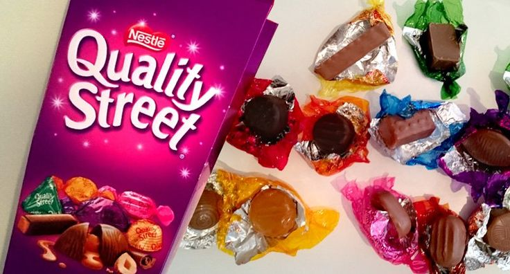 How Many Quality Street Can You Identify Without The Wrappers On?