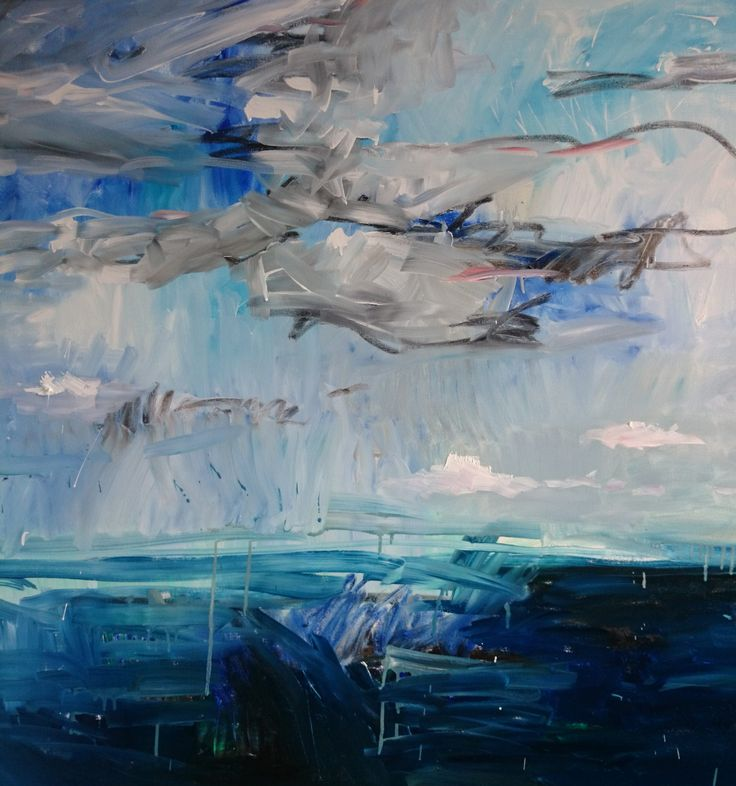 View The view by Lilia Orlova-Holmes. A beautiful original abstract seascape painting. Browse more art for sale at great prices. New art added daily. Buy original art direct from international artists. Shop now