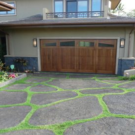Permeable Paving Option On Driveway