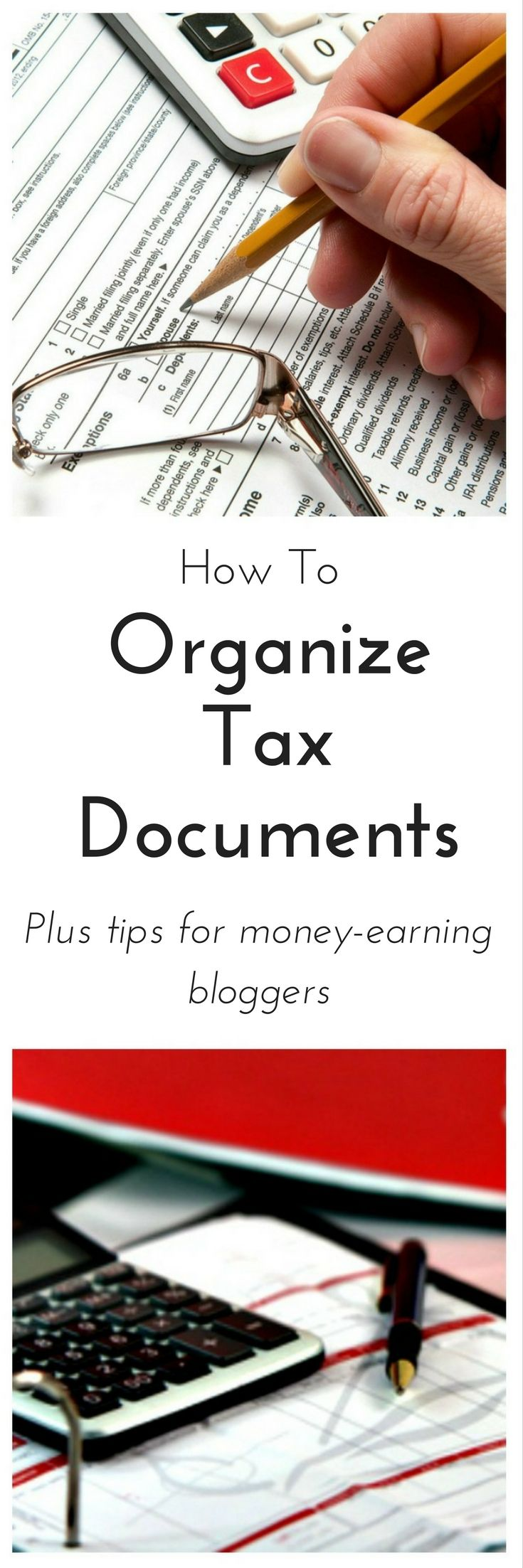 How To Organize Tax Documents - Such an easy system