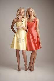 bruidsmeisje jurk licht oranje - Google zoeken