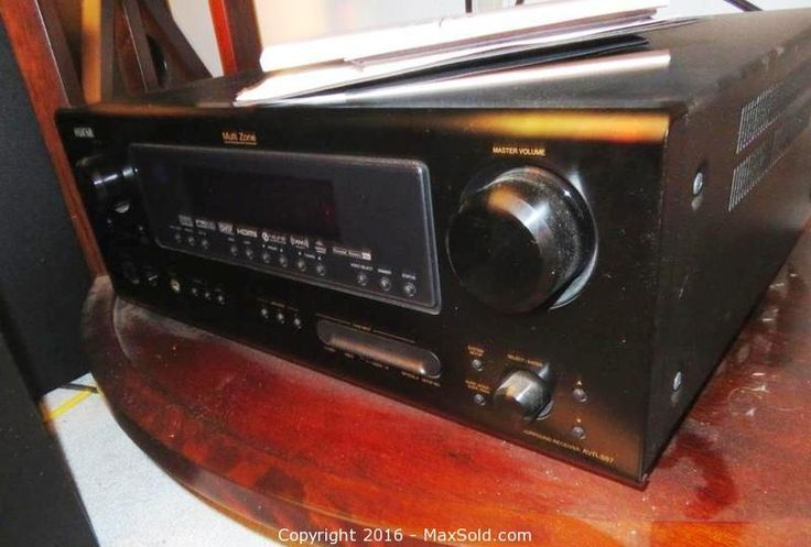 Denon Receiver Sold on MaxSold for $270
