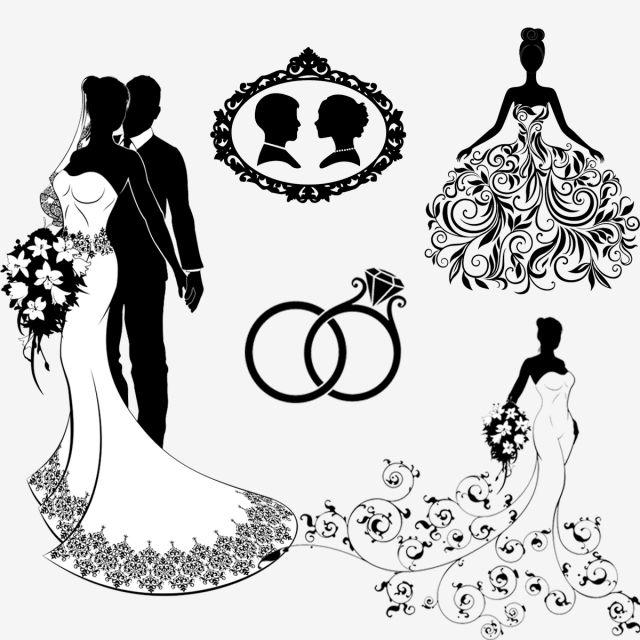 عرائس سلويت Bride Silhouette Bride Image