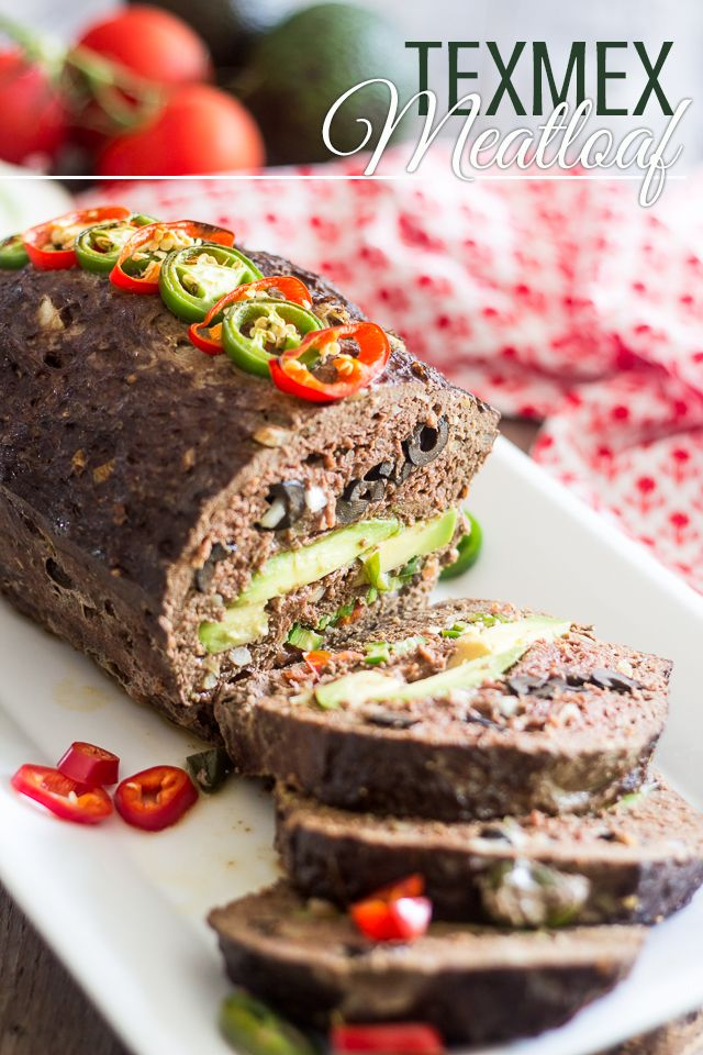 TexMex Meatloaf   thehealthyfoodie.com Use lean ground turkey and this will be perfect!!!!