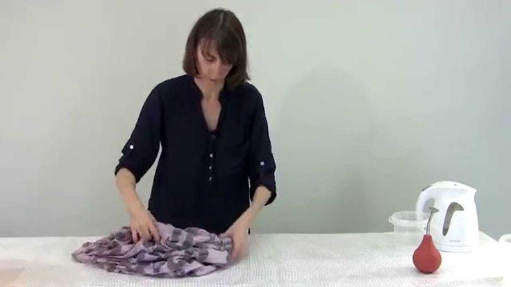 ✿Валяние платья✿Как свалять эластичное платье с ламинацией