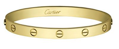 Fine and Fashion Jewelry Finds: Cartier Love Bracelet