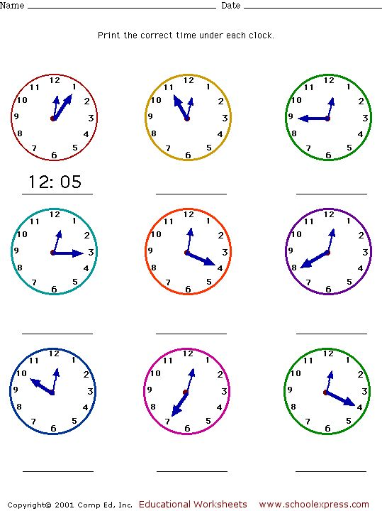 telling time worksheets | ... on the picture to download it math worksheets telling time five minute