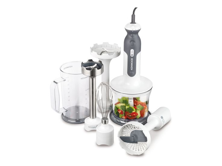 Food preparation's never been easier with the Kenwood Triblade Hand Blender