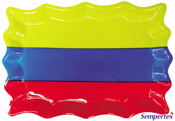 Bandeja Colombia 40 x 27cm x1