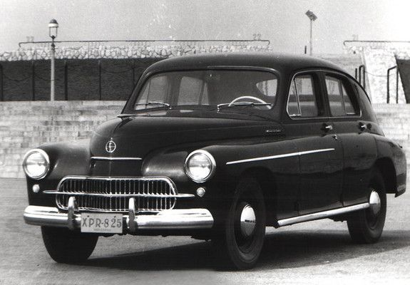 #FSO #Warszawa 200 1957–60
