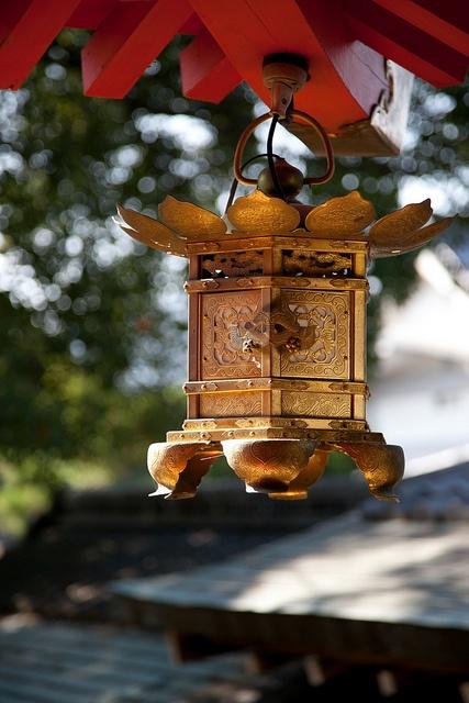 Daikaku-ji lantern, Kyoto