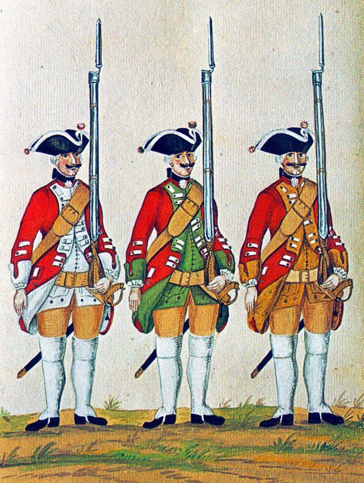 Hanover in the Seven Years War: Infantry Regiments von Block, von Kilmansegge and von Linsingen by Karsten