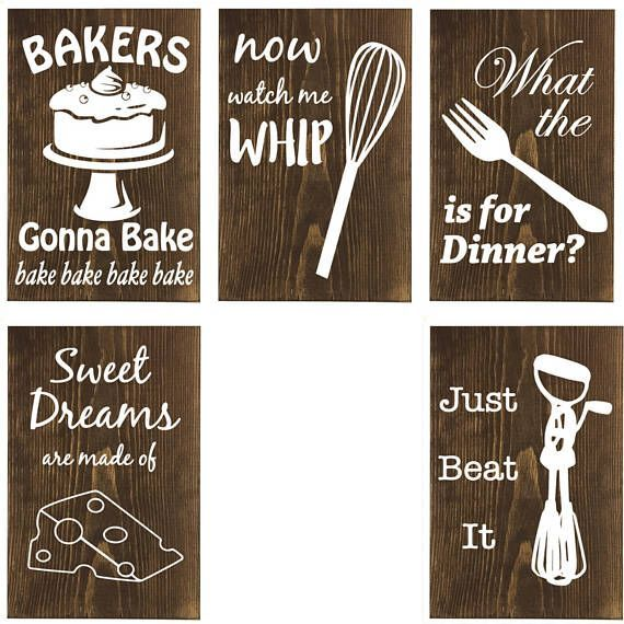 Funny Wooden Kitchen Sign Wall Decor Kitchen Humor Housewarming