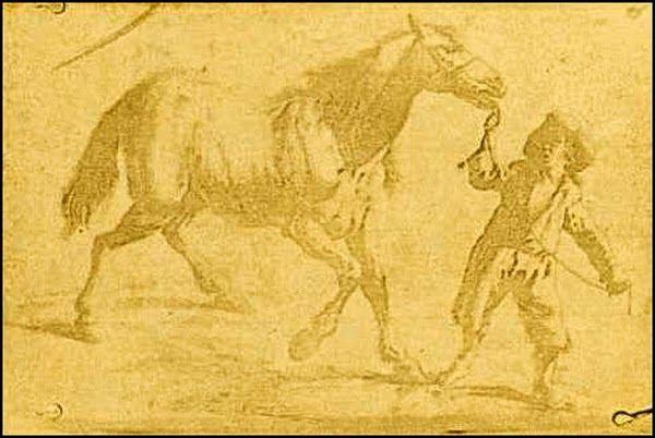 Nicéphore Niépce (1765-1833) nel 1825. (Bibliothèque nationale de France)