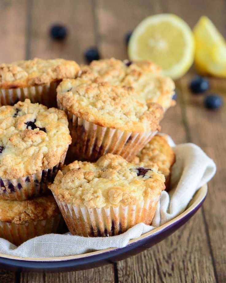 Fabulous lemon blueberry muffins recipe — light, fluffy muffin with a hint of lemon and packed with blueberries. An all time favorite!