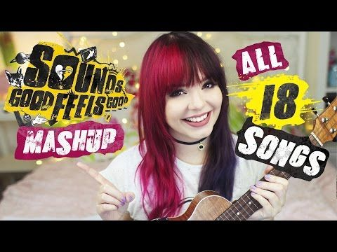 5SOS Sounds Good Feels Good Album MASHUP • ALL 18 Songs! | Alycia Marie - YouTube. THIS IS AWESOME