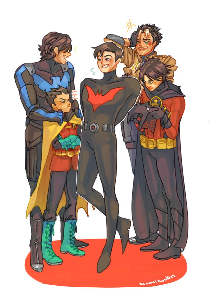 "maridoodles: ""i need it dc, let my boy meet my other boys """