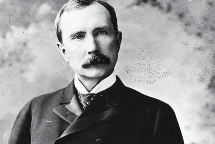 John Davison Rockefeller Sr., was born  on July 8, 1839.  He is best known as the patriarch of the socially prominent Rockefeller family of New York, founder of the Standard Oil Company and founder of the Rockefeller Foundation.