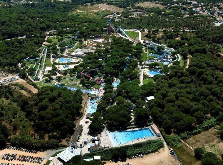 Panoràmica del parc #WaterWorldParc