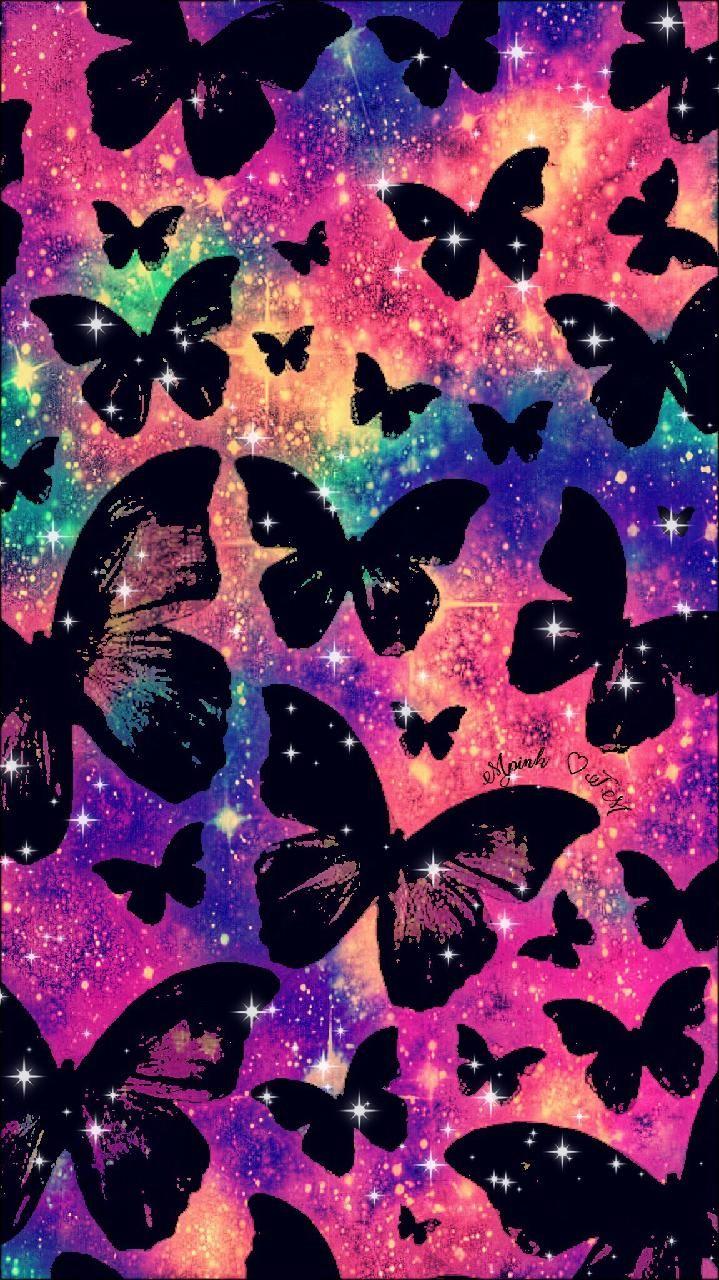 Butterfly Wallpaper Sparkle