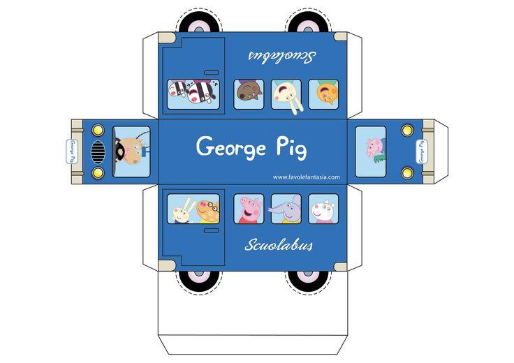 scuolabus george pig