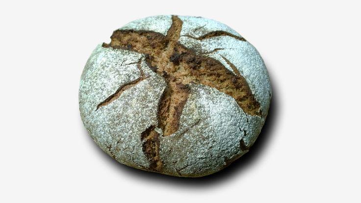 Немецкий ржаной хлеб - YouTube