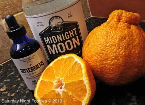 Bittermans Hellfire, Midnight Moon and Sumo Tangerines