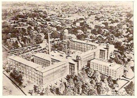 Hamilton watch company plant, 1945, Lancaster, PA.
