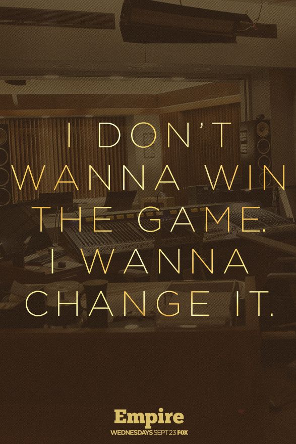 Motivation brought to you by Hakeem Lyon. Empire is back Sept. 23!