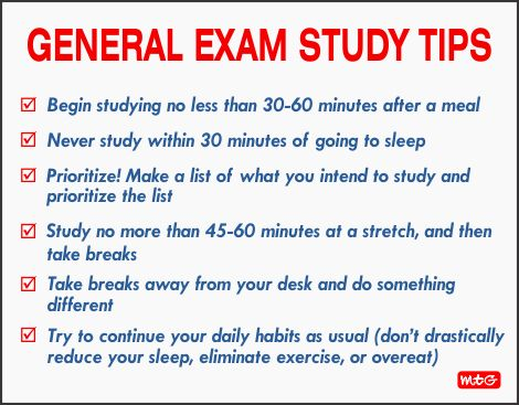 Image result for exam tips