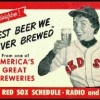 1956 Red Sox Schedule.  I remember fishing with my Dad and listening to the Sox on the radio - and he'd give me sips of his 'Gansett