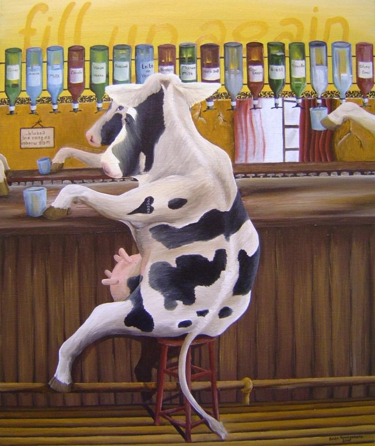 Fill up again by professional dutch artist Anita Ammerlaan.  www.koeien-kunst.nl
