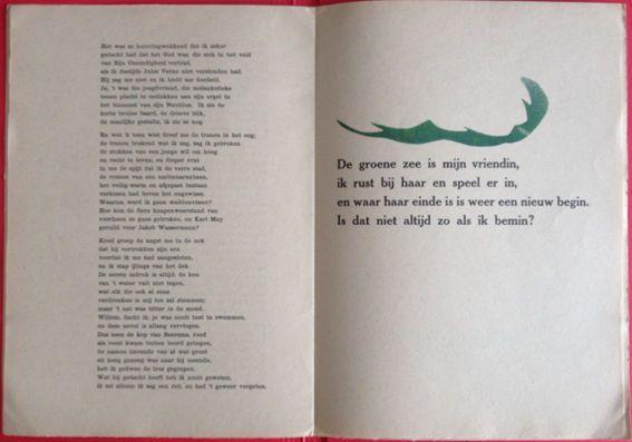 H.N. Werkman; J.B. Charles - Een Suite van de Zee - 1944