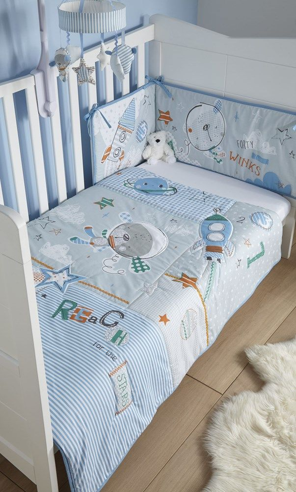 GREY ELEPHANT BABY BEDDING SET COT OR COT BED COVERS BUMPER CANOPY BLANKET
