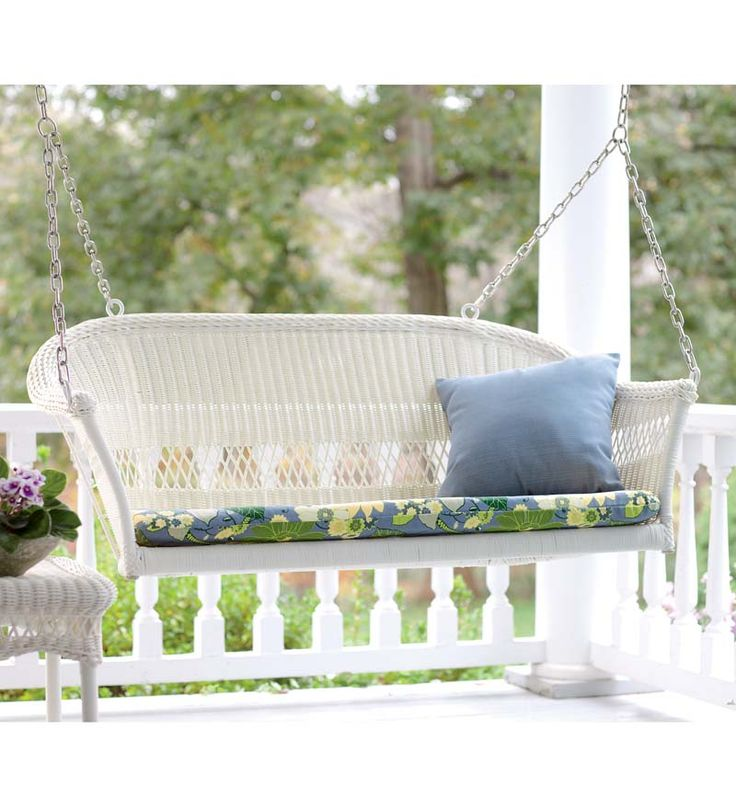17 Best Ideas About Wicker Swing On Pinterest Black