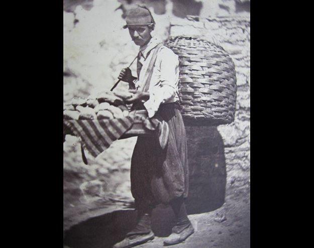 Poğaçacı - (1900'lü yılların başı)