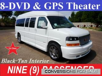 2012 GMC 9 Passenger Conversion Van 8 DVD