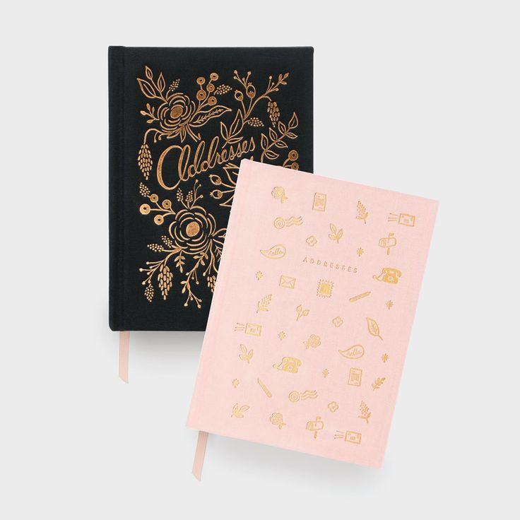 Make mum's day this Mother's Day with a gorgeous Rifle Paper Co. address book, which separate sections for important contacts & celebrations, and is the perfect size for carrying around!
