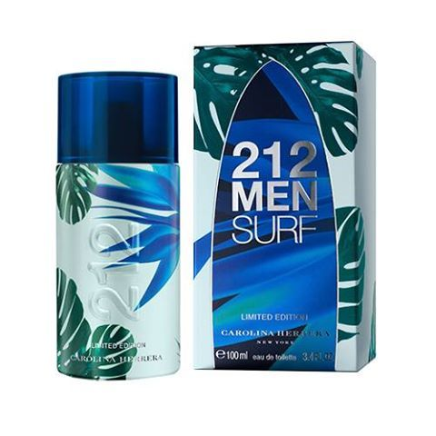 Outras Época Cosméticos -  212 Men Surf Carolina Herrera - Perfume Masculino - 100ml ((( R$ 169,15 )))